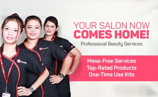 Get pampered like royalty at home make an online booking for How to make a beauty salon at home